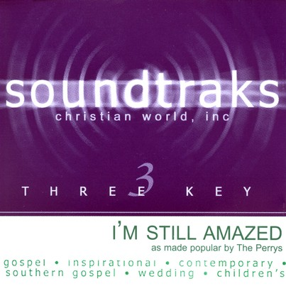 I'm Still Amazed, Accompaniment CD