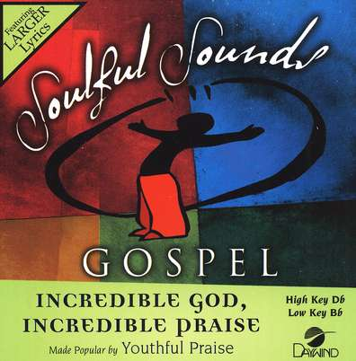 Incredible God, Incredible Praise, Accompaniment CD