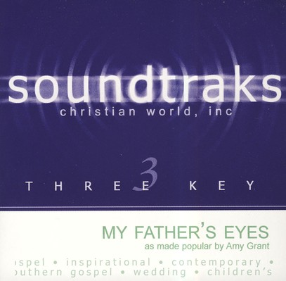 My Father's Eyes, Accompaniment CD