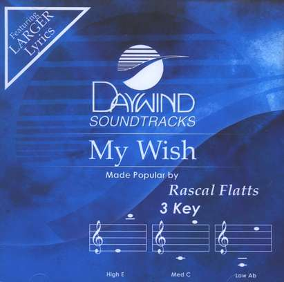My Wish, Accompaniment CD