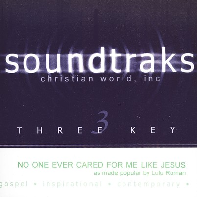 No One Ever Cared For Me Like Jesus, Accompaniment CD