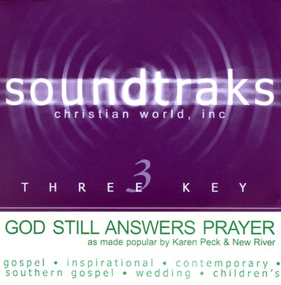 God Still Answers Prayer, Accompaniment CD