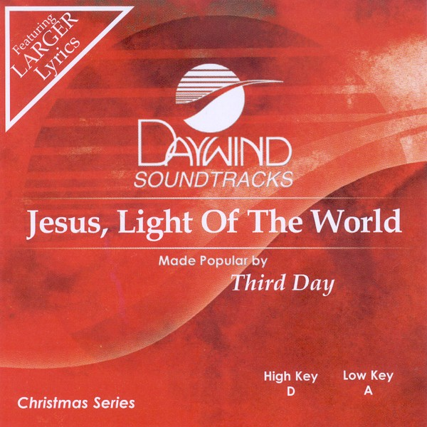 Jesus, Light of the World, Accompaniment CD