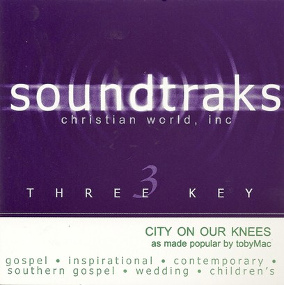 City On Our Knees, Accompaniment CD