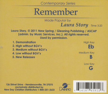 Remember Acc, CD