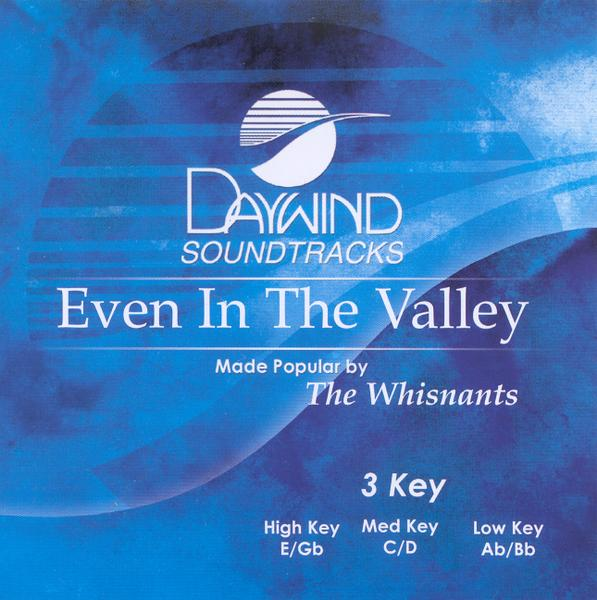 Even In The Valley, Accompaniment CD