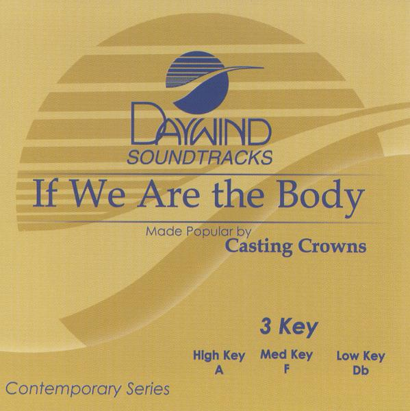 If We Are The Body, Accompaniment CD