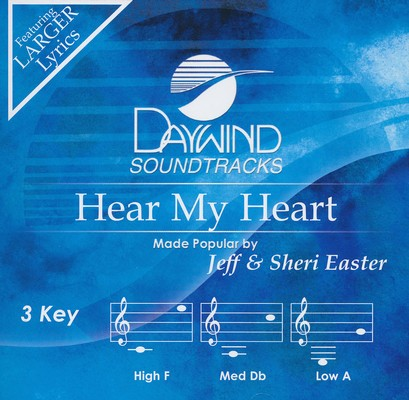 Hear My Heart, Accompaniment CD
