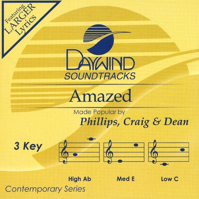 Amazed, Accompaniment CD