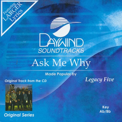 Ask Me Why, Acc CD