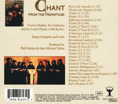 Chant From The Hermitage, Compact Disc [CD]