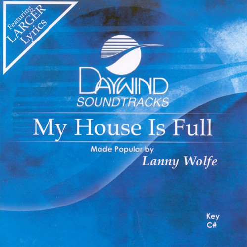 My House Is Full, Accompaniment CD