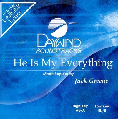 He Is My Everything, Accompaniment CD