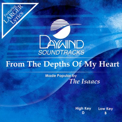 From The Depths Of My Heart, Accompaniment CD