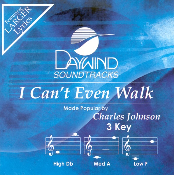 I Can't Even Walk, Accompaniment CD
