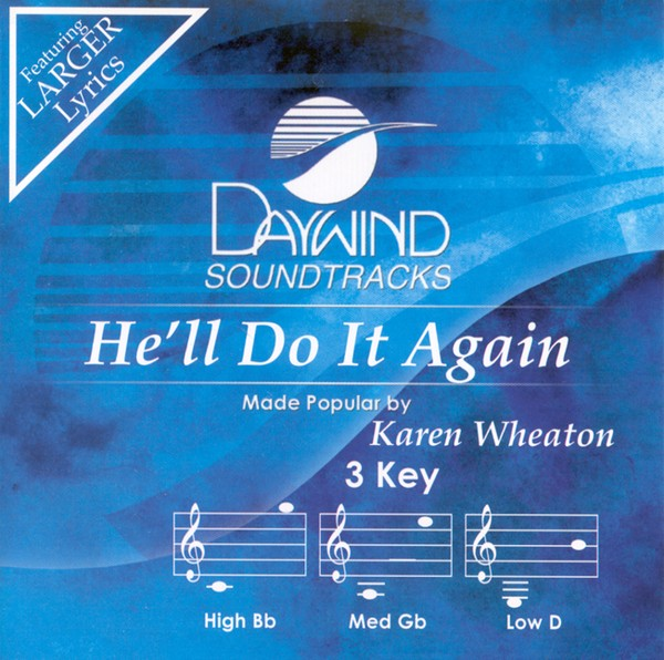 He'll Do It Again, Accompaniment CD