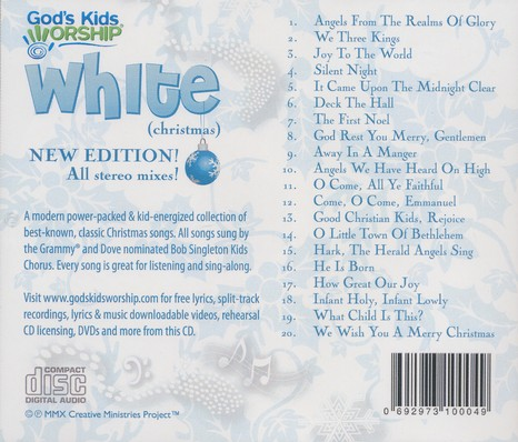White (Christmas) CD New Edition