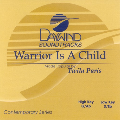 Warrior Is A Child, Accompaniment CD