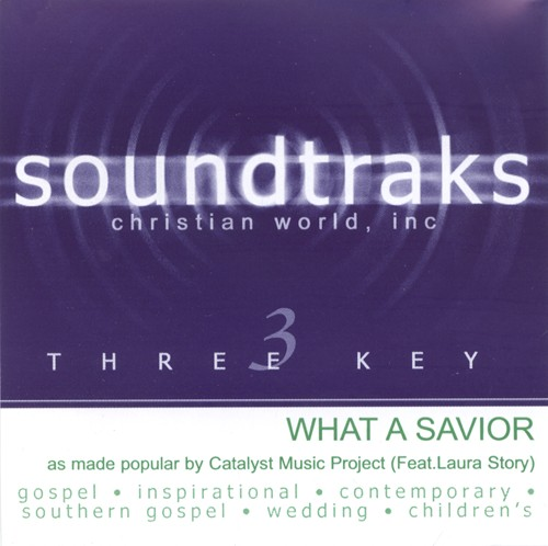 What A Savior, Accompaniment CD