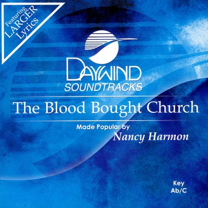 The Blood Bought Church, Accompaniment CD
