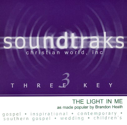 The Light In Me, Accompaniment CD