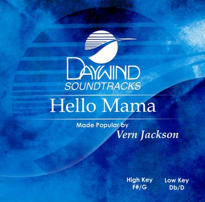 Hello Mama, Accompaniment CD