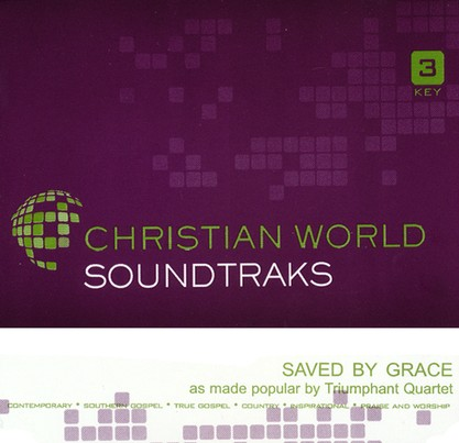 Saved By Grace, Accompaniment CD