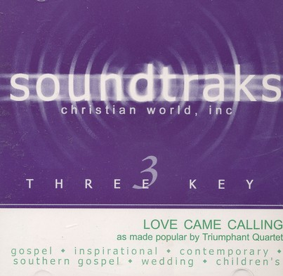 Love Came Calling, Accompaniment CD