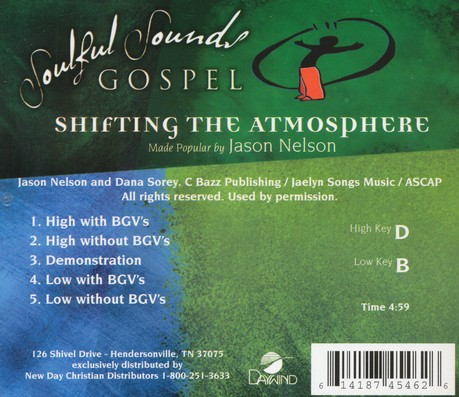 Shifting the Atmosphere Acc, CD