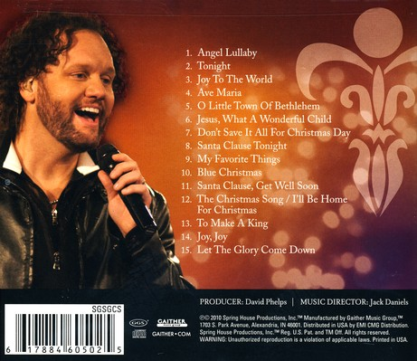 Christmas With David Phelps CD