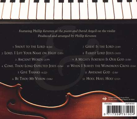 Classical Praise: Piano & Violin CD, Volume 2