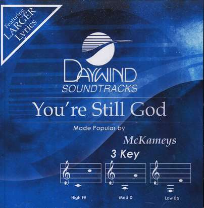 You're Still God, Accompaniment CD