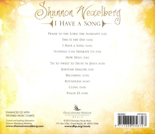 I Have A Song CD