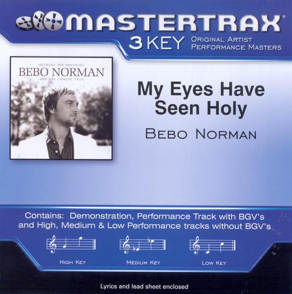 My Eyes Have Seen Holy, Accompaniment CD