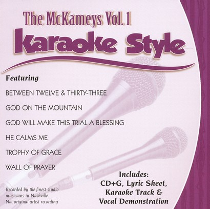 The McKameys, Volume 1, Karaoke Style CD