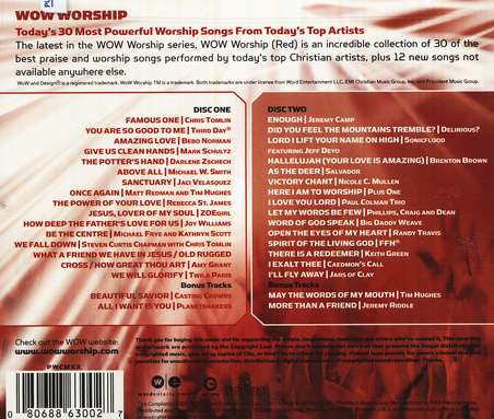 WOW Worship (Red), Compact Disc [CD]