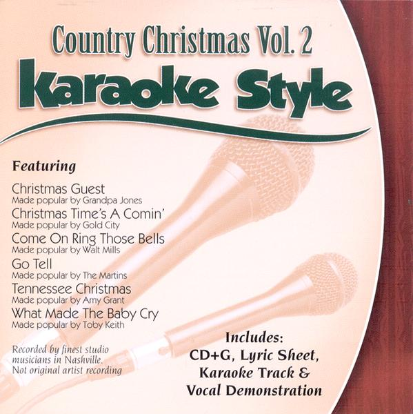 Country Christmas, Volume 2, Karaoke Style CD