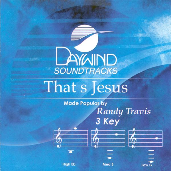 That's Jesus, Accompaniment CD