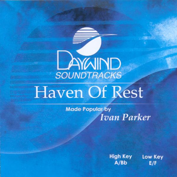 Haven of Rest, Accompaniment CD