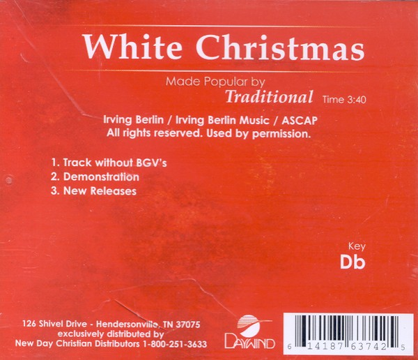 White Christmas, Accompaniment CD