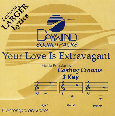 Your Love Is Extravagant, Accompaniment CD