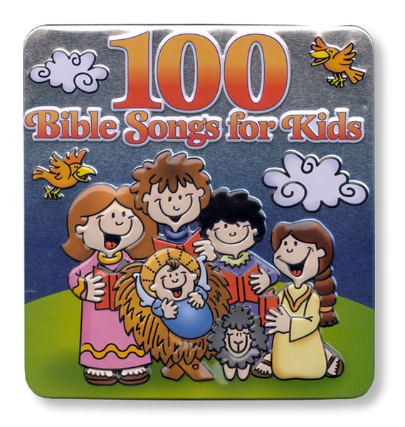 100 Bible Songs for Kids, 3 CD Set