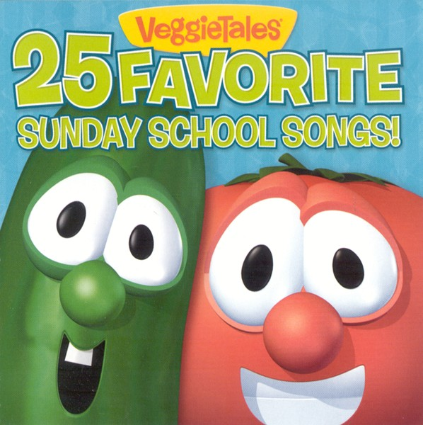 VeggieTales 25 Favorite Sunday School Songs CD
