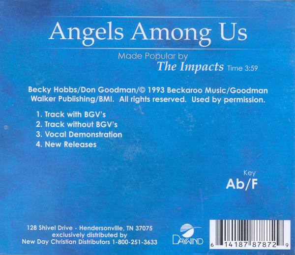Angels Among Us, Accompaniment CD