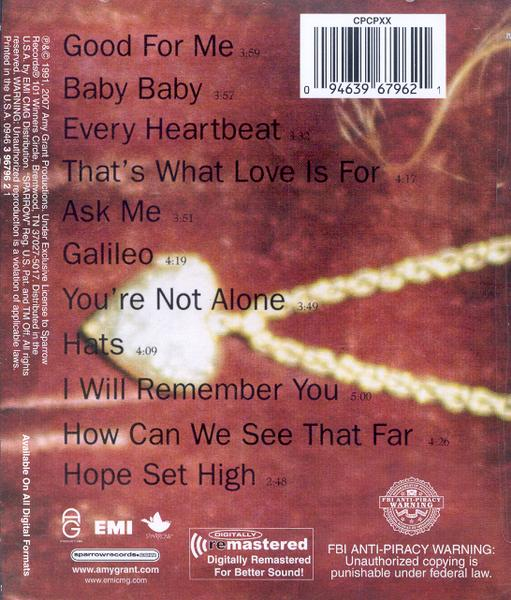 Heart in Motion, Remastered CD