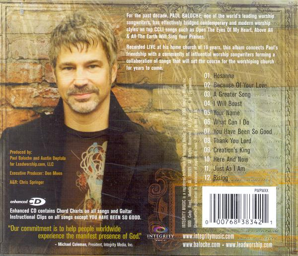 A Greater Song CD