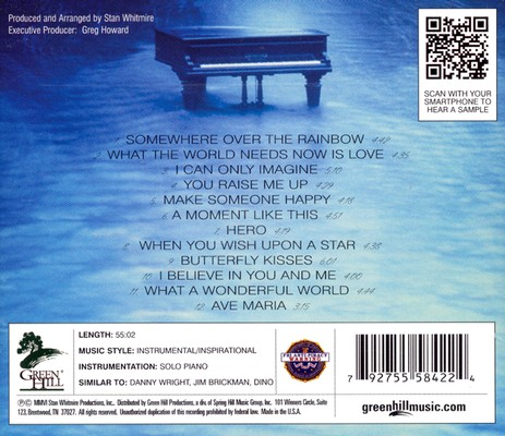 Piano Inspirations CD