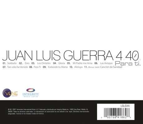 Juan Luis Guerra Para Ti Descargar