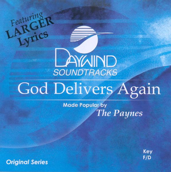 God Delivers Again, Accompaniment CD