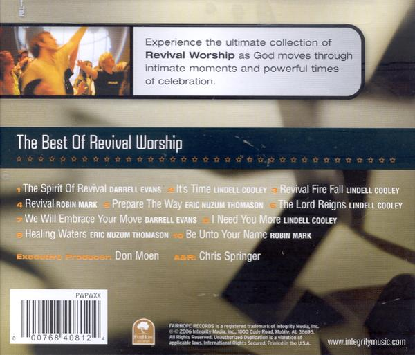 The Best of Revival Worship CD
